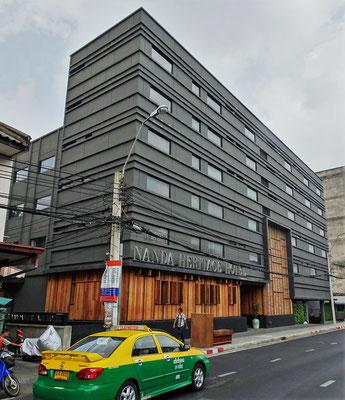 Unser Hotel aus Stahl, das NandaHeritage.