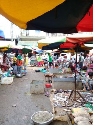ein Markt in Kamnpong Thom, der Heimat meiner Mentorin