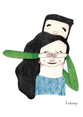 Amor. Ilustración personal. Noviembre, 2014