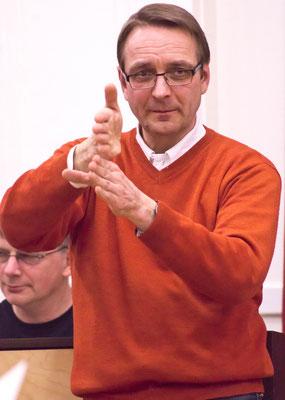 So exakt muss es werden - Stefan Merkelbach, Dirigent der Wormser Kantorei