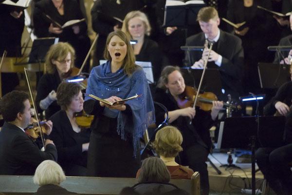 Aufführung am 22.03.2015 - Violetta Hellwig, Sopran