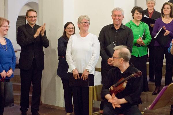 Karin Tuninger-Mailahn und Reinhard Mailahn, Initiatoren des Konzerts