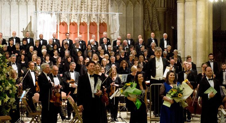Aufführung der c-moll-Messe von Mozart am 11.04.2015