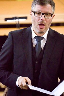 Aufführung am 22.03.2015 - Christian Rathgeber, Tenor