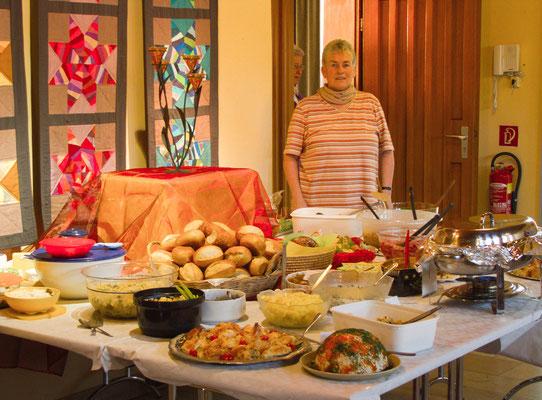 02.04.2013: Vorbereitungen für die Party