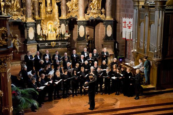 Wormser Kantorei, Stefan Merkelbach, Generalprobe im Wormser Dom St. Peter