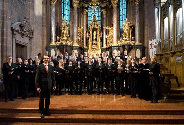 Wormser Kantorei, Stefan Merkelbach,  22.10.17, Wormser Dom St. Peter