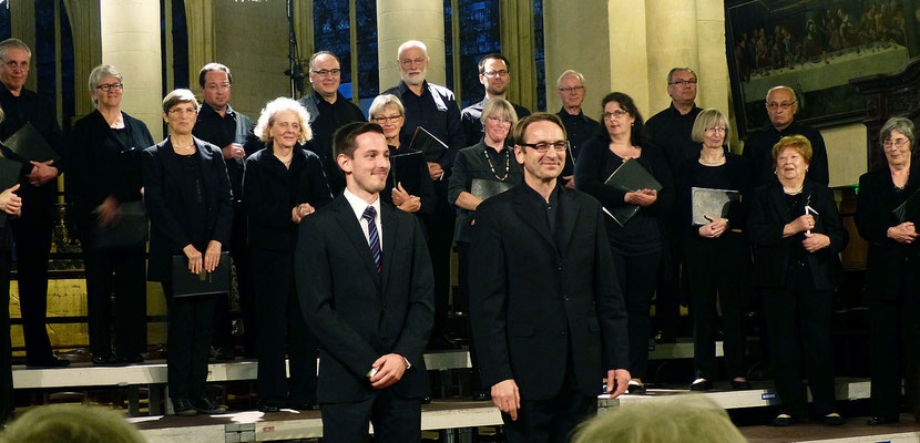 Jonas Janson, Orgel, und Stefan Merkelbach
