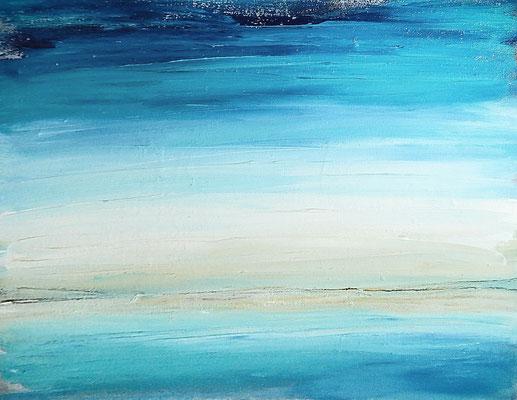 strandbild blau
