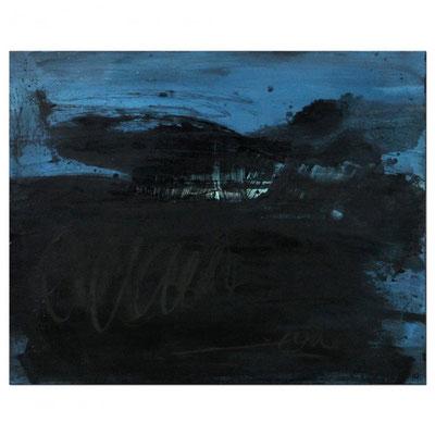 blaues Bild - wirkt super auf beigem oder grauem Hintergrund