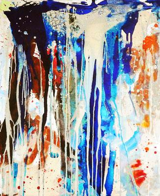 kunst blau