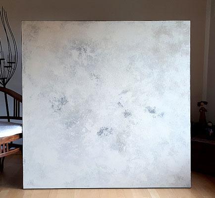 abstraktes Bild Wolkenhaft