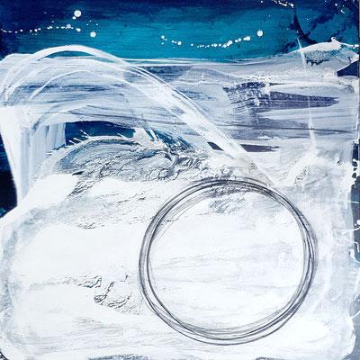 blaues Bild - Nachtflüge