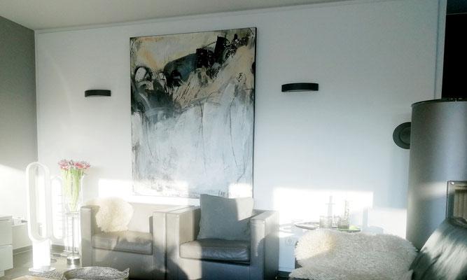schwarz weiße Bilder Gemälde