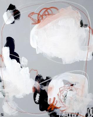 Abstraktes graues Bild