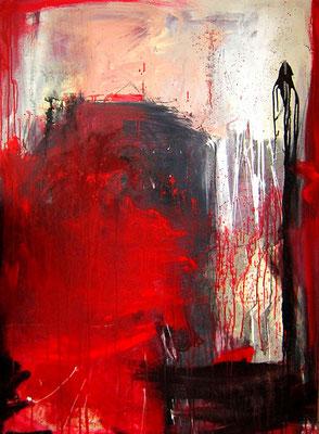 Gemälde abstrakt rot kaufen