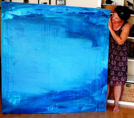blaue große bilder