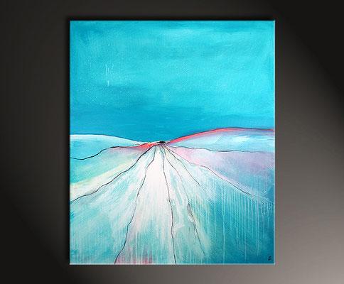 blaue Bilder abstrakt
