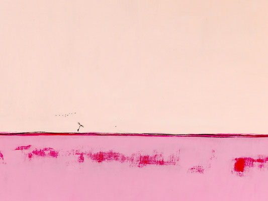 Gemälde in pink
