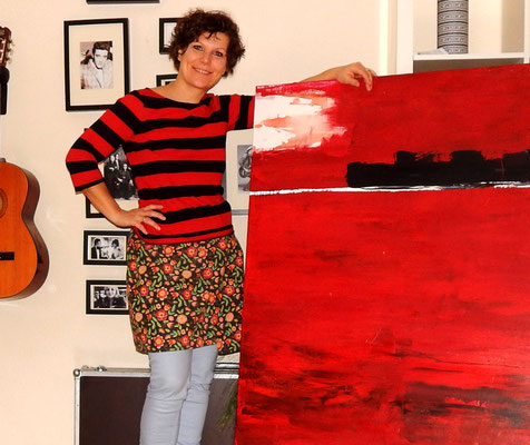 Bild Liebesfahrt in rot