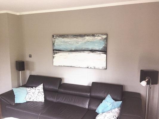 bild Wohnzimmer blau