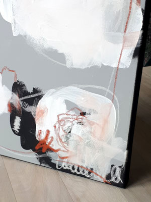 Bild im Detail - grau shwarz weiß