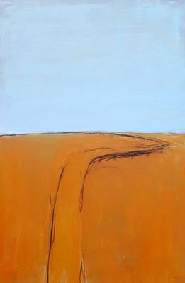 Detal - orange hellblau