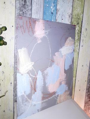 Malplatte - Chorprobe - ohne Rahmen sind diese Bilder