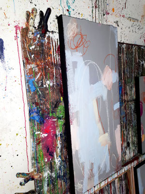 Bild abstrakt Pastell