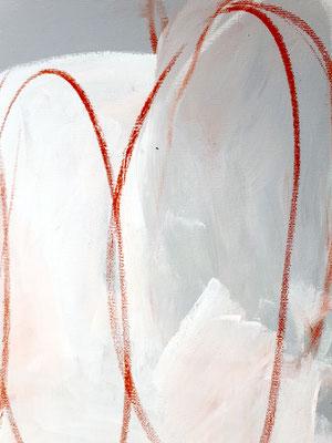 detail weiß Gemälde