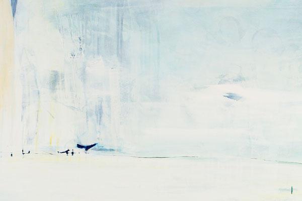 Der Traum vom Eislauf - Bild abstrakte Landschaft