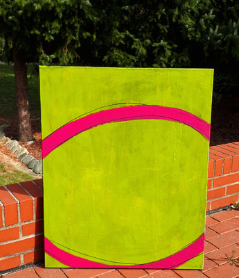 abstraktes grünes Bild