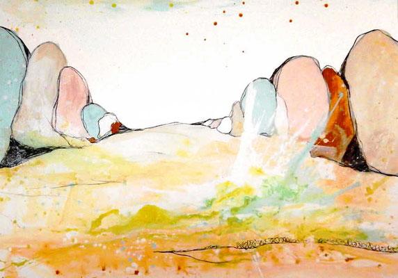 Kunst Malerei Bilder pastell