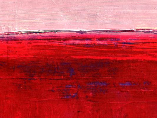abstraktes rotes Bild
