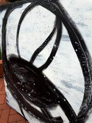 Detailfoto von 140 x 140 cm Nightswimmer