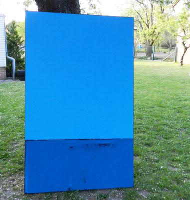 blaues Bild groß