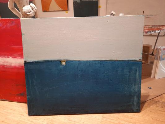 blau graues Bild