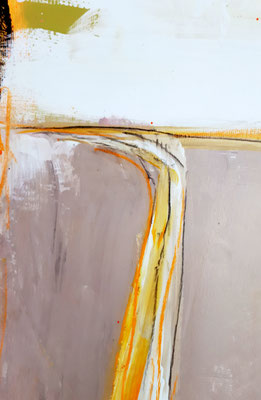 abstraktes graues Gemälde