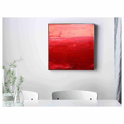 rotes Bild Küche