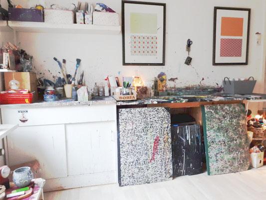 atelier, in dem das Bild entstand
