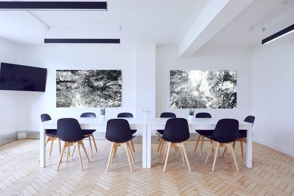 abstrakte bilder xxl schwarz weiss