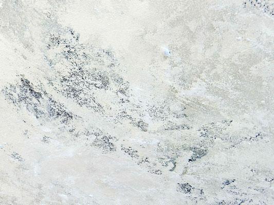 abstraktes weißes Gemälde beige