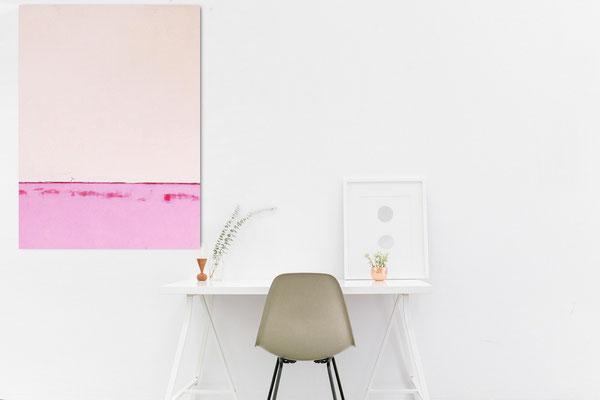 Bild groß rosa