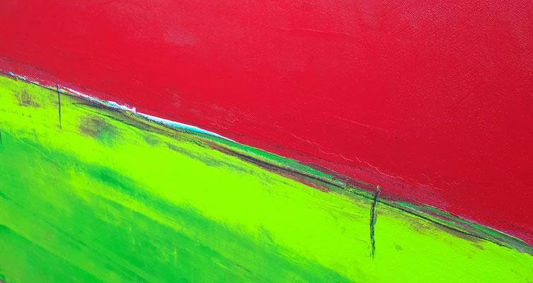 detail grün rot