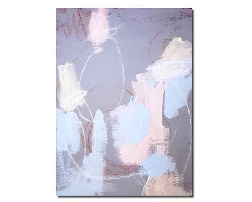 Chorprobe I - bild grau rosa hellblau