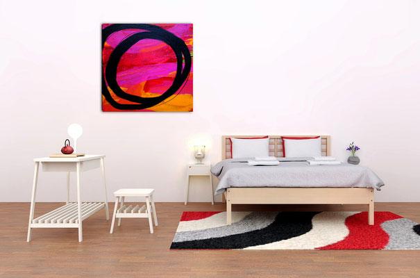 rotes großes Bild kaufen