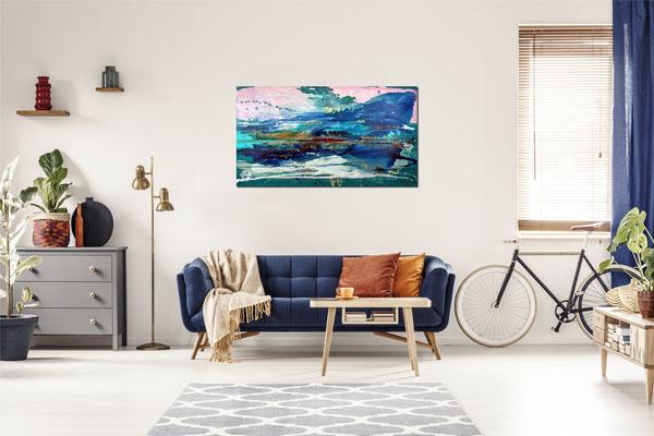 Gemälde in Raumansicht