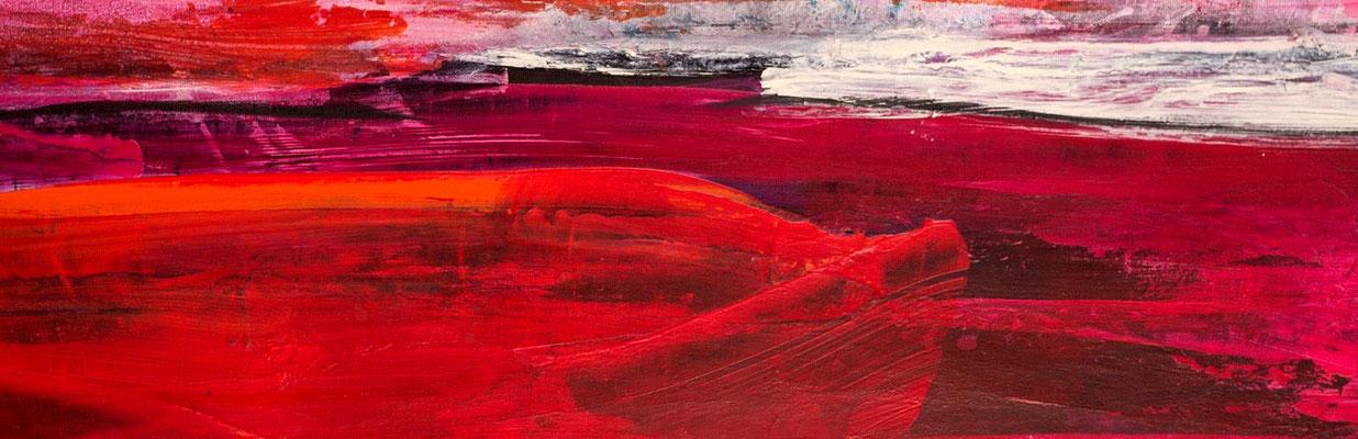 abstraktes rotes Bild detail