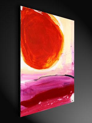seitenansicht abstrakte Malerei
