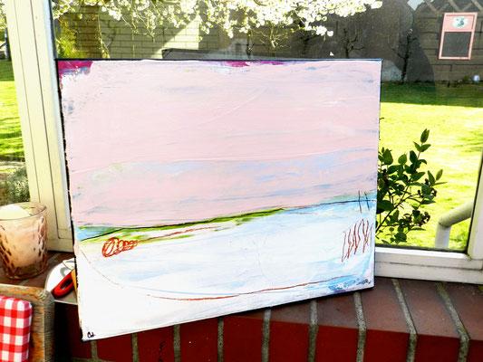Der Sprung ins kalte Wasser - 50 x 40 cm - man kann bei catawiki bieten - fragen Sie mich gerne - ich schicke Ihnen den Link